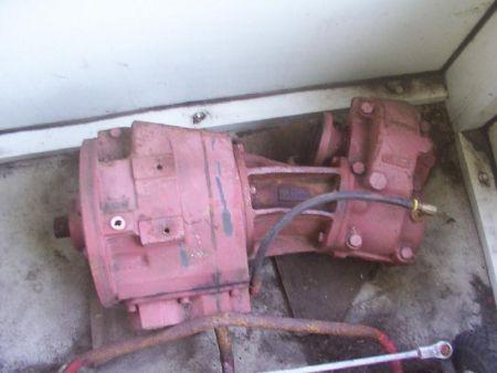 Pargon V-drive marine transmission (other stuff to