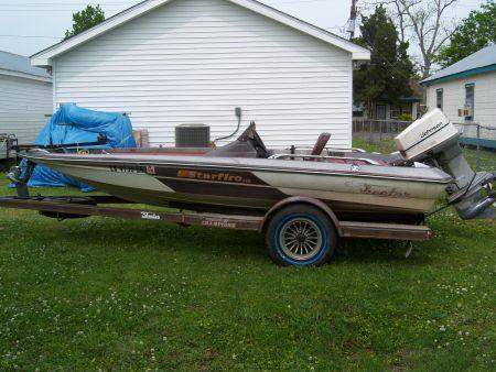 1984 skeeter starfire 115 johnson Bass Boat For Sale in