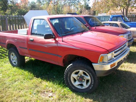 1990 Toyota Tacoma 4x4 Pickup Truck For Sale in Outside