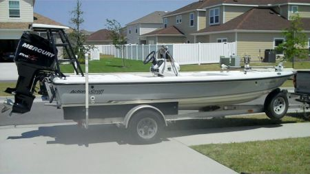 1999 Action Craft 1820 Se Flatsmaster Center Console For Sale In