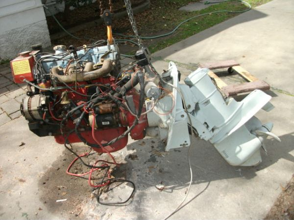 last chance -reduced*** volvo/penta outdrive - louisiana sportsman
