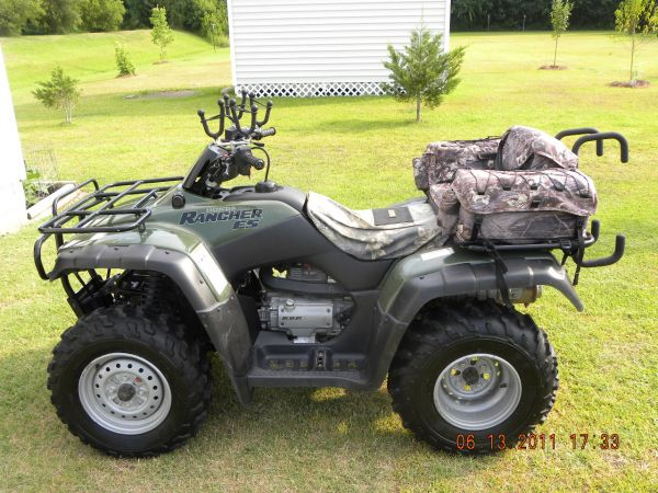 2002 Honda Rancher 350es 4x4 Atv Amp Four Wheeler For Sale