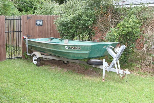 14ft flat bottom Aluminum Boat - Louisiana Sportsman Classifieds, LA