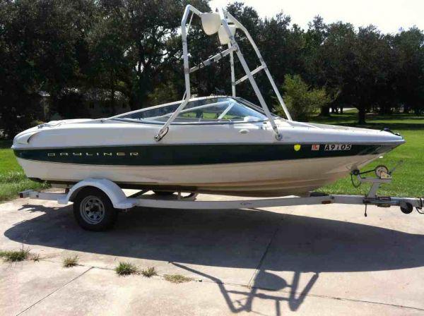 1999 Bayliner Capri Ski Boat For Sale In Baton Rouge