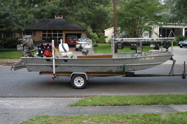Custom Bowfishing Boat - Louisiana Sportsman Classifieds, LA