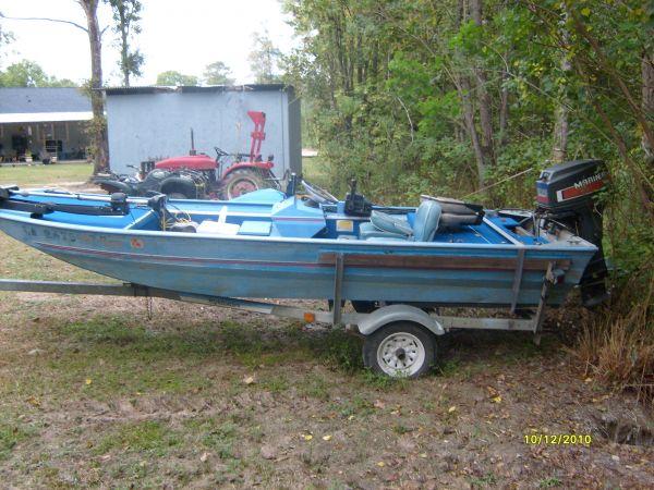 1984 15 ft Duracraft Flat / Jon Boat For Sale in Louisiana