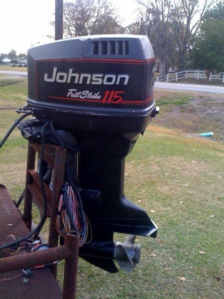 1995 Johnson 115 horse two stroke Outboard Motors For Sale