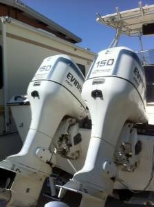 1998 EVINRUDE OCEAN PRO 150 FITCH Outboard Motors For Sale