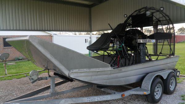 1995 Alumitech Airboat For Sale in Lafayette - Louisiana