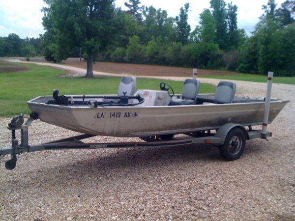 16ft Aluminum Boat For Sale - Louisiana Sportsman Classifieds, LA