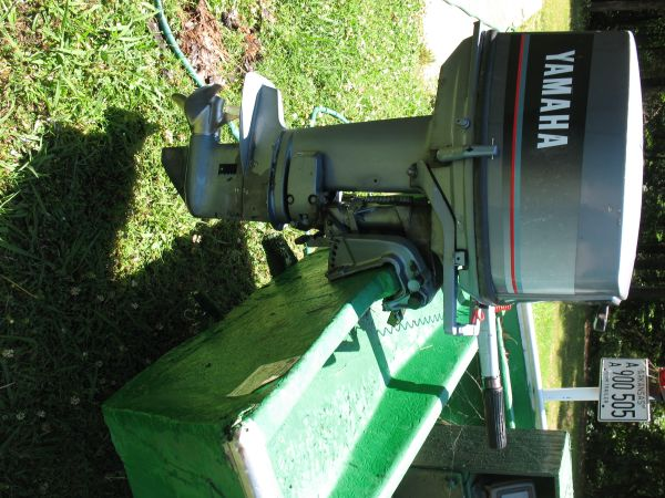 1986 YAMAHA 25 hp Outboard Motor Outboard Motors For Sale in