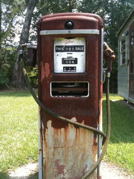 Antique Gilbarco Gas Pump - Louisiana Sportsman Classifieds, LA