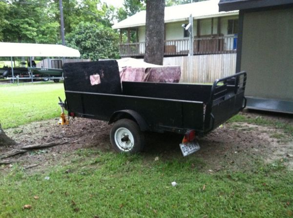 2001 Snowbird Home Depot Utility Trailer For Sale In Lafayette