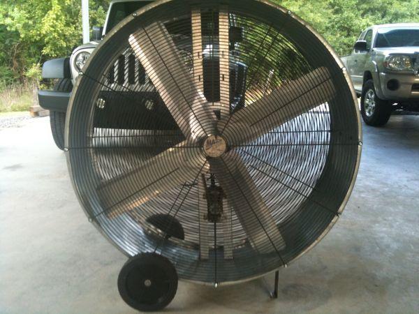 Maxx air 48' Drum Fan for sale - Louisiana Sportsman Classifieds, LA