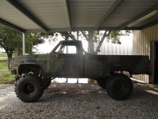 1984 WTS/WTT 1984 Chevy M1008 military truck 5300 origi