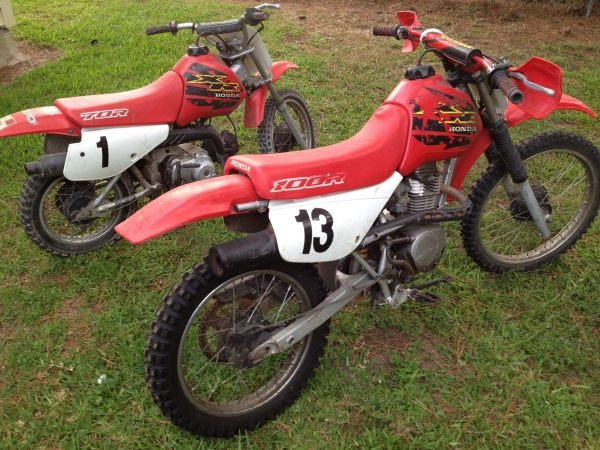 2000 honda xr70 dirt bike