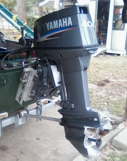 2003 2003 Yamaha 40 hp Outboard Motors For Sale in Southeast