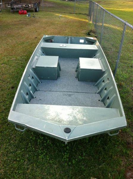 1442 Southfork flat boat - Louisiana Sportsman Classifieds, LA