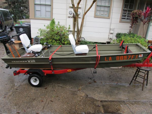 2011 Tracker Flat / Jon Boat For Sale in Baton Rouge ...