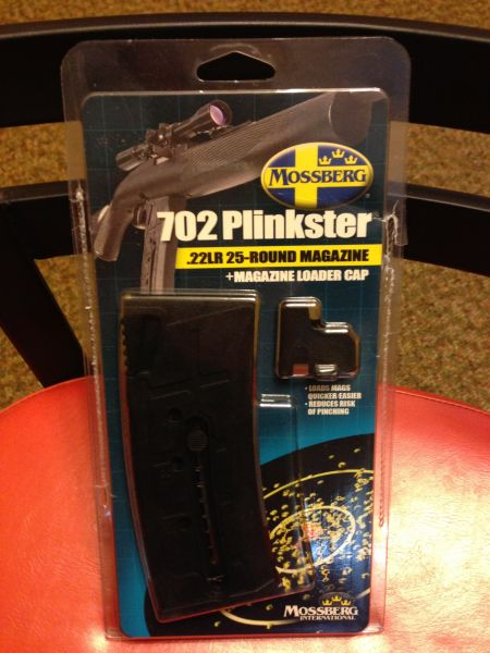 Mossberg 702 Plinkster 25-Round magazine - Louisiana