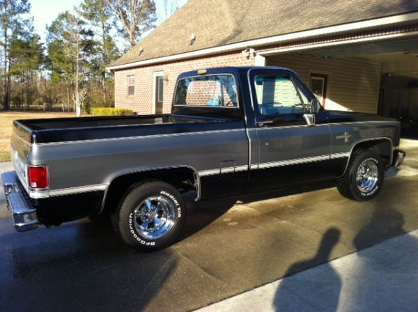 1986 Chevrolet C10 Silverado Pickup Truck For Sale In Baton Rouge