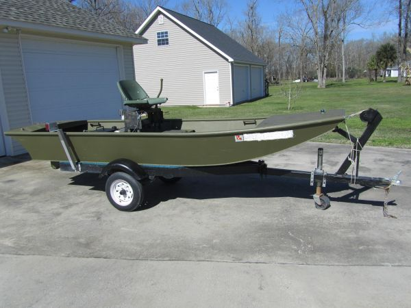 Mud Boats For Sale >> Aluminum Mud Boat For Sale Louisiana Sportsman Classifieds La
