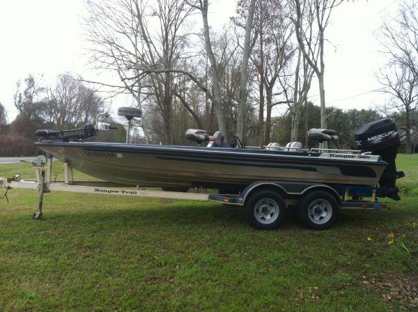 1986 Ranger 390v Bass Boat For Sale In Louisiana Louisiana