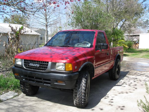 1993 Isuzu pickup 4x4 v6 Pickup Truck For Sale in Lafayette