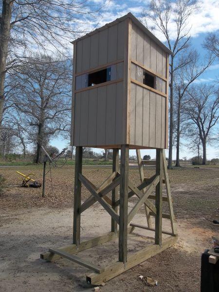 shooting houses and gravity deer feeders - Louisiana