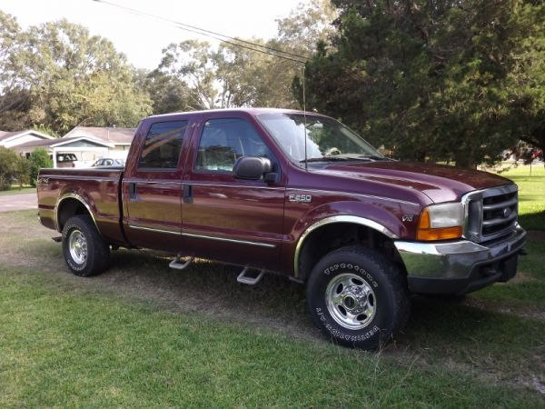 2000 Ford F250 V10 4x4 Pickup Truck For Sale In Louisiana