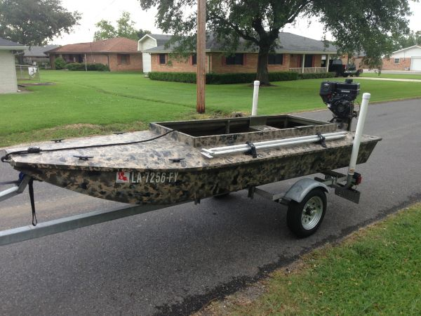 Duck Boats For Sale >> 2012 Homemade Aluminum Layout Sneak Boat Duck Boat For Sale In Houma