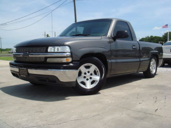 Lowered Silverado For Sale >> 2002 Chevy Silverado Lowered Slammed Pickup Truck For Sale In
