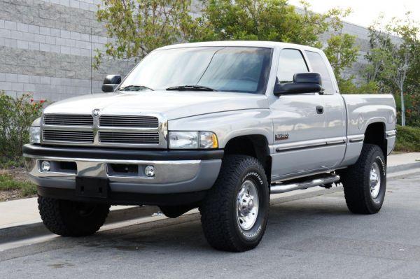 2001 Dodge Ram 2500 Quad Cab Short Bed 4x4 Slt Laramie Pickup Truck