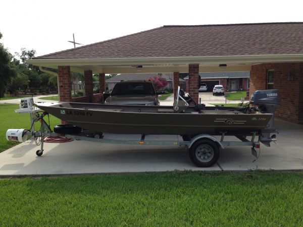 2009 1756 G3 Flat / Jon Boat For Sale in New Orleans