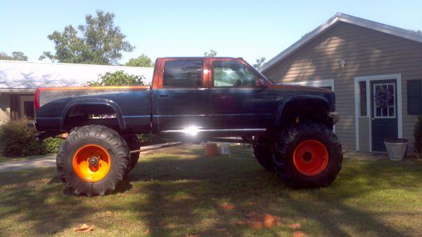 1998 Mud Truck Mega Truck Pickup Truck For Sale In Louisiana