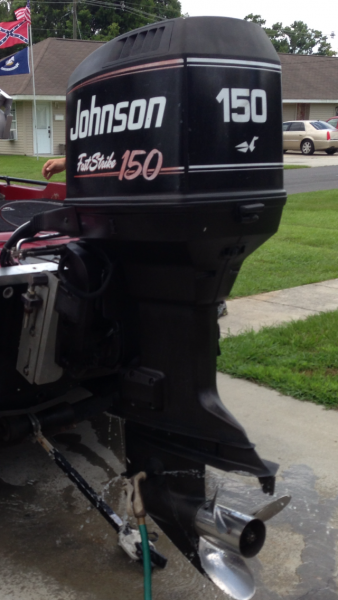 1993 Johnson Fast Strike 150 Outboard Motors For Sale in Baton Rouge
