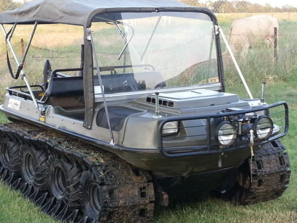 1997 ARGO CONQUEST 8x8 AMPHIBIOUS ATV & Four Wheeler For Sale in