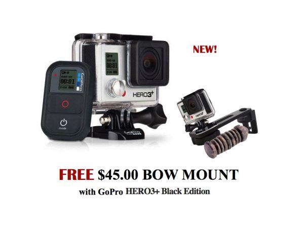 GoPro Plus Free $45 Bow camera mount - Louisiana Sportsman