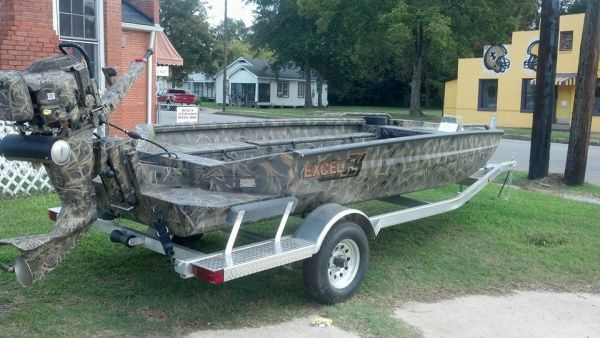 Duck Boats For Sale >> 2014 Excel 1751swf4 Duck Boat For Sale In Louisiana Louisiana