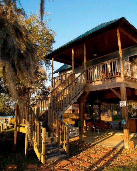 Bayou side of Camp