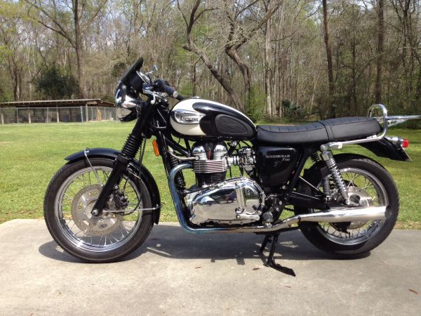 2007 Triumph Bonneville T100 Motorcycles For Sale In Southeast
