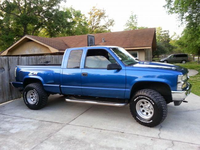 1998 1998 Chevy Z71 Pickup Truck For Sale In Louisiana Louisiana