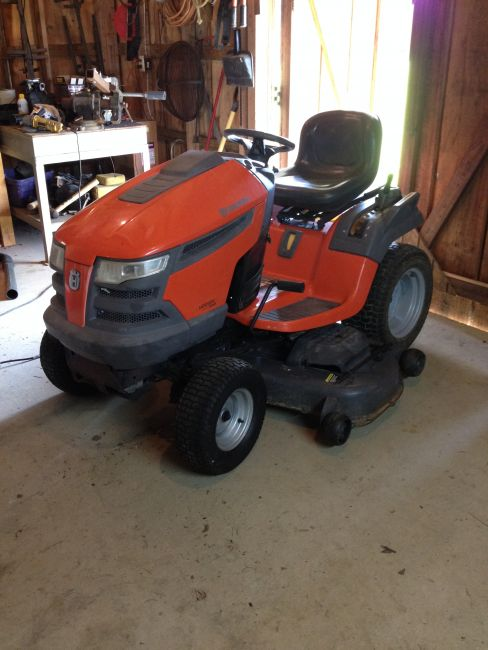 2010 Husqvarna LGT2554 Lawn Mower For Sale in Baton Rouge