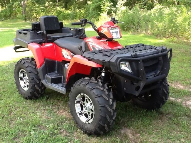 2009 Polaris Sportsman 800 X2 Atv Four Wheeler For Sale In Central