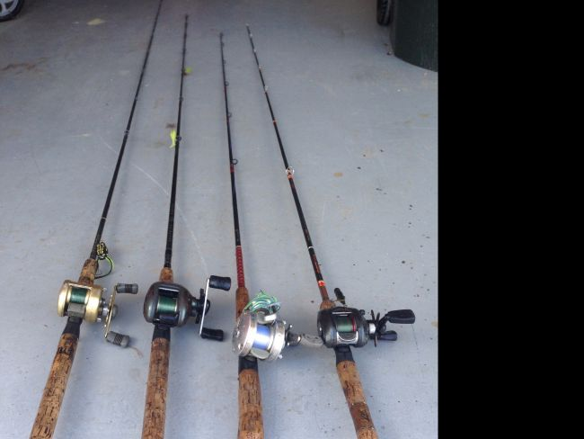Fishing rod and reels for sale - Louisiana Sportsman Classifieds, LA