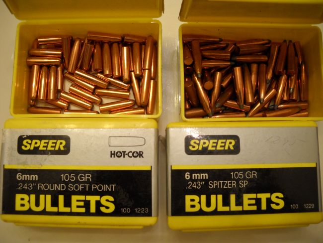 243/6MM Speer Bullets F/S - Louisiana Sportsman Classifieds, LA