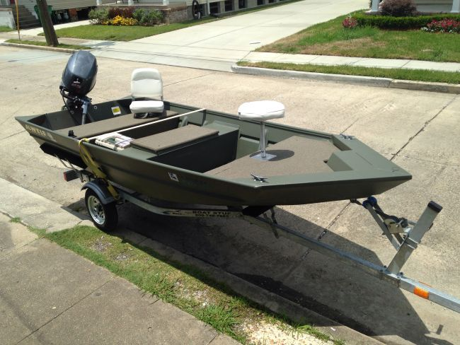 2014 Alweld Mod Vee Hull Flat / Jon Boat For Sale in New Orleans