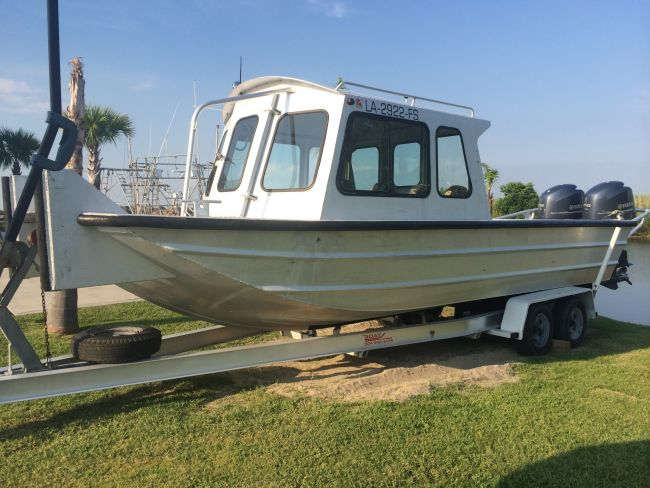 2008 Scully's Cabin Crew Boat Flat / Jon Boat For Sale in