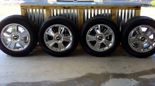 2012 4 20 X 8 5 Chevy Silverado Rims Wheels Auto Parts For