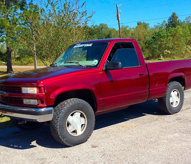 1996 Chevy K1500 Pickup Truck For Sale In Lafayette